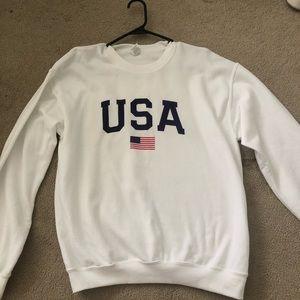 USA crewneck